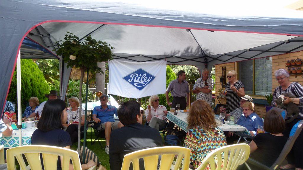 Riley Motor Club of SA Christmas Lunch