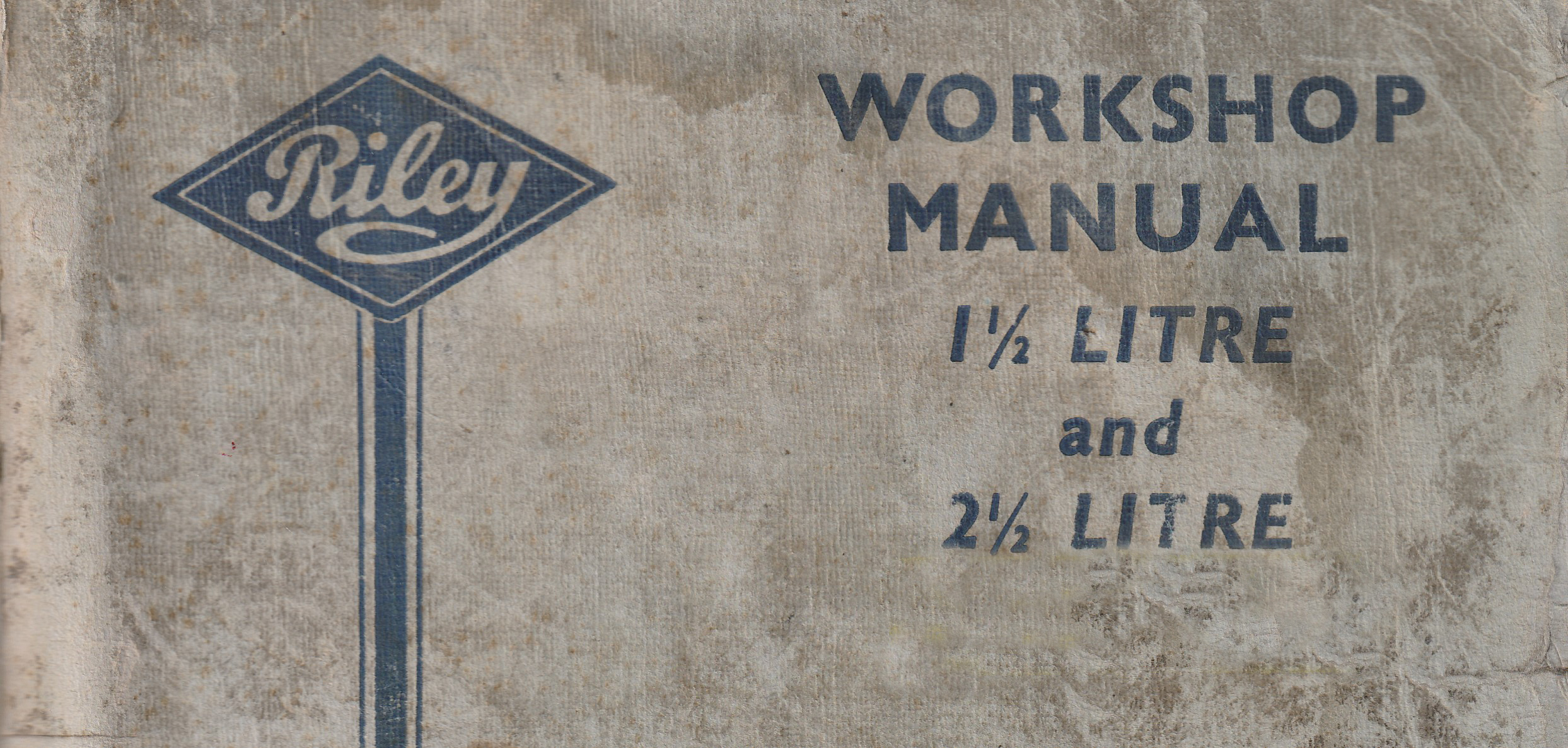 RM Riley Workshop Manual