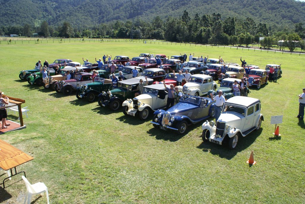Rileys in Queensland for the National Rally